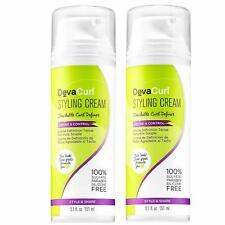 2X DevaCurl Styling Cream Touchable Curl Definer Define & Control 5.1 Oz Each