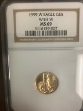1999-w unfinished proof dies NGC ms69