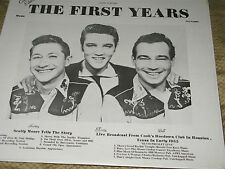 ELVIS / THE FIRST YEARS / HALW00001  ( SEALED )