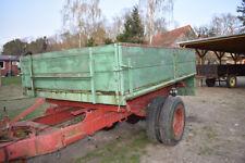 Malzer Einachs-Dreiseitenkipper, EDK, Traktor Anhänger
