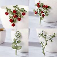 Fashion Women Flower Plant Brooch Breastopin Pearl Crystal Enamel Pin Jewelry