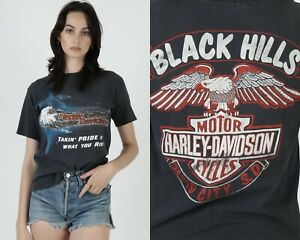 Vintage Harley Davidson Bikers Only Sturgis Takin Pride In What You Ride T Shirt