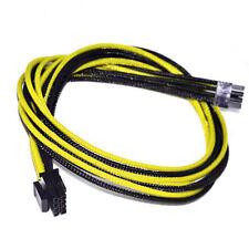 CPU 8pin Cable de alimentación de Manga Negro Amarillo Evga E-Series G3/G2/P2/T2