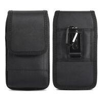 Universal Nylon Carrying Case Flip Cover Pouch Belt-Clip Holster for CellPhones