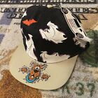 Vintage 90s Scooby Doo Cartoon Network Wacky Racing Halloween Snapback Hat