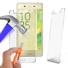 Vidrio templado genuino ultra delgada protector de pantalla para Sony Xperia X