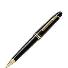 MONTBLANC MEISTERSTUCK LEGRAND BALLPOINT PEN BLACK & GOLD  NEW IN BOX 161