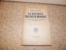 1934.Bataille des deux morins.Guerre 14-18.Colonel Grasset