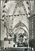 Postkarte Ostseebad Rerik -Kanzel mit Altarraum in Kirche,s/w, gelaufen 1982