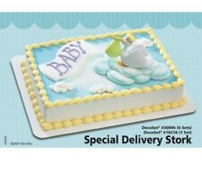 Special Delivery Stork DecoSet Cake Decoration Baby Shower