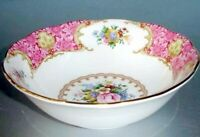 """Royal Albert Lady Carlyle Cereal Oatmeal Bowl Floral Bone China 6.25""""W New"""