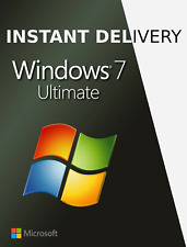 Windows 7 ultimate - 32/64bit - licence-Instant Delivery-mail 2020 Ultimate