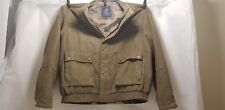 P G Field Olive Green Jacket Size Large