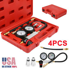 New Cylinder Leak Tester Petrol Engine Compression Leakage Leakdown Detector Kit