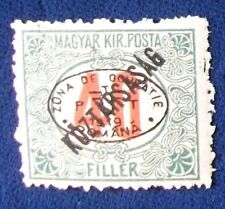 Hungary SC# 2NJ15 MH First Debrecen Issue Postage Due