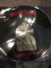 Motorhead - Live / What's Words Worth 1978 Rsd 2017 Limited Picture Disc LP -New