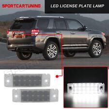2x Led License Plate Lights Lamp For Toyota 1996 2020 4runner 2008 2019 Sequoia