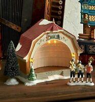 Bavarian Concert Hall 6003047 - NEW 2019 Set of 4 - Dept.56 Alpine Village - NIB