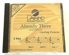 Daywind - Casting Crowns - Already There - accompaniment track christian cd new