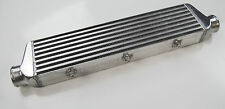 "FOR FRONT MOUNT UNIVERSAL TURBO INTERCOOLER 550MM x 136MM x 65MM 2.2"" in/outlet"
