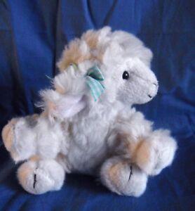 *1807a*  Russ Berrie - cream lamb sheep - Lola  (#31954) - plush - 13cm
