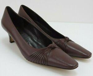 Designer Kitten Heel Leather UK 8.5 NARROW AA Amalfi by Rangoni Originally £150