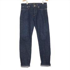 A.P.C. Petit Standard Selvedge Raw Denim Indigo Size 31 APC Jean Droit Etroit