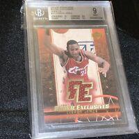 2003 Upper Deck Rookie Exclusives LeBron James Jersey BGS 9 Mint 💎🔥🔥