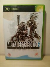 Metal Gear Solid 2: Substance (Microsoft Xbox, 2002) FREE POST