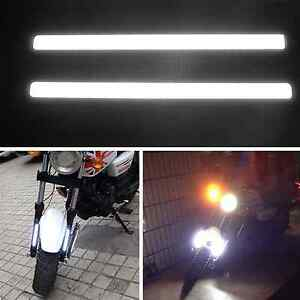 2 Pcs 12V White Bright Waterproof COB LED Light for DRL Fog Driving Lamp For BMW