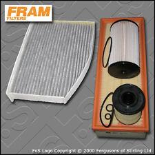 KIT di servizio SKODA OCTAVIA (1Z) 1.6 TDI FRAM Olio Aria Carburante Cabin filtri 2009-2013