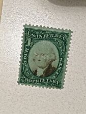 Us Internal Revenue Stamp Scott # Rb4B