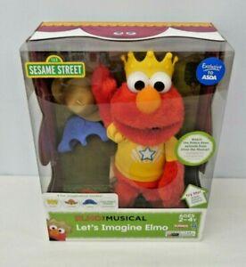 Let's Imagine Elmo Interactive plush 2013 Sesame Street New Old Stock