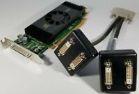 Dell NVIDIA Quadro NVS 420 SFF Slim VHDCI QUAD DVI Four Monitors Video Card