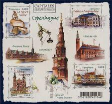 Feuillet F4637 - Capitales européennes - Copenhague - 2012
