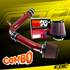 98-02 Honda Accord 3.0L V6 Red Cold Air Intake + K&N Air Filter