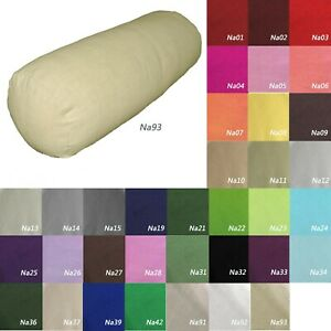 Tailor Made*BOLSTER COVER*Linen cotton cushion LongoingTube Neck pillow case*Na