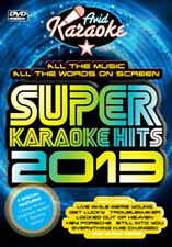 DVD:SUPER KARAOKE HITS 2013 - NEW Region 2 UK