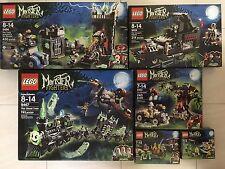 Lego Monster Fighters Set 9467,9461,9462,9463,9464,9466+bonus 30200 Retired