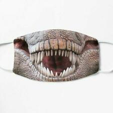 Dinosaur T Rex Adult Face Mask Washable Reusable