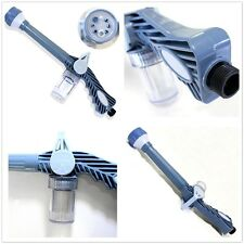 1Pcs 8in1 Multi Function Jet Water & Soap Dispenser Cannon Hose Nozzle Spray Gun