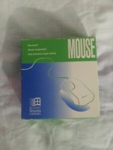 1995 Vintage Microsoft Windows Compatible Plug In Mouse
