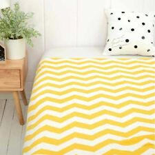Nordic Cotton Knitted Blanket Yarn Bulky Throw Soft Warm Home Beding Rug Carpet