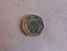 * RARE * 50th Anniversary NHS 50p pence collectors coin
