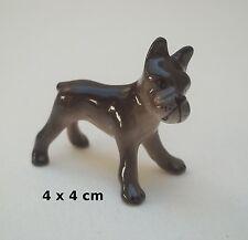 chien miniature en céramique ,collection, vitrine, hondje, dog   G30-21