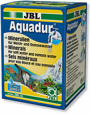 JBL Aquadur 250g Remineraliser Mineral Salts RO & Soft Water Increases KH GH