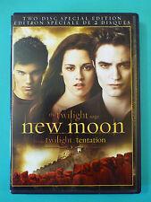 The Twilight Saga: New Moon (DVD*2-Discs*En/Fr*Kristen Stewart*Robert Pattinson)