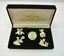 Disney Pin-WDCC-5 Pin Set of Retired Sculptures (Alternate) NEW 1999