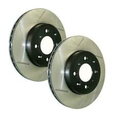 StopTech Power Slot Rear Brake Rotors for 13-14 Ford Mustang Shelby GT500