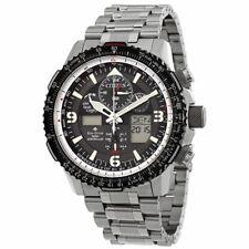 NEW Citizen Men's Eco-Drive Promaster Skyhawk JY8070-54E Black Dial 46mm Watch